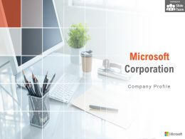 Microsoft Corporation Company Profile Overview Financials And Statistics From 2014-2018