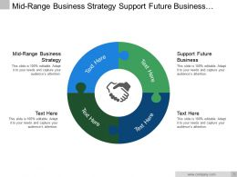 Mid Range Business Strategy Support Future Business Adjustment Market