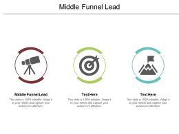 Middle Funnel Lead Ppt Powerpoint Presentation Icon Summary Cpb