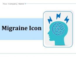 Migrane Icon Stress Management Arrows Circuits