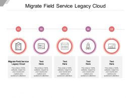Migrate Field Service Legacy Cloud Ppt Powerpoint Presentation File Background Images Cpb