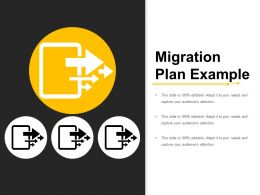 Migration Plan Example