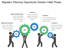 Migration Planning Opportunity Solution Initial Phase Process Visualization