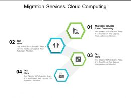 Migration Services Cloud Computing Ppt Powerpoint Presentation Portfolio Graphics Cpb