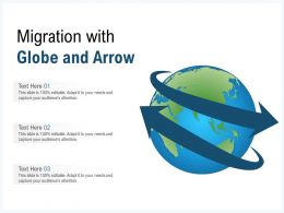Migration With Globe And Arrow