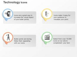 Mike Tripod Flap Role Movie Ppt Icons Graphics