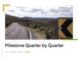 Milestone Quarter By Quarter Retail Sales Digitalize Billing Device Integration