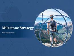 Milestone Strategy Powerpoint Presentation Slides