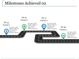 Milestones Achieved Ppt Professional