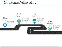 Milestones Achieved Ppt Professional