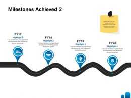 Milestones Achieved Significant Ppt Powerpoint Presentation Inspiration Skills