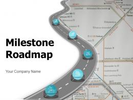 Milestones Roadmap Strategic Planning Framework Business Direction Achieving Goals Preparation