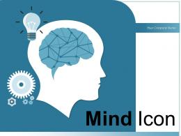 Mind Icon Gears Brainstorming Business Generation Exclamation Goals Arrow