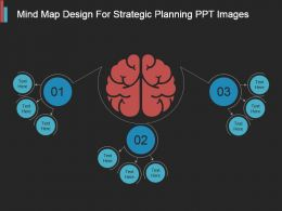 Mind Map Design For Strategic Planning Ppt Images