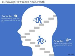 mind_map_for_success_and_growth_flat_powerpoint_design_Slide01
