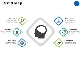 Mind Map Idea Bulb F439 Ppt Powerpoint Presentation Inspiration Graphics