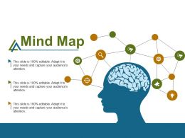 Mind Map Knowledge F466 Ppt Infographic Template Graphics Design