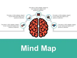 Mind Map Knowledge F725 Ppt Powerpoint Presentation File Clipart Images