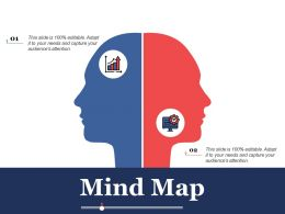 Mind Map Knowledge Ppt Powerpoint Presentation File Infographic Template