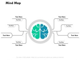Mind Map Knowledge Ppt Powerpoint Presentation Outline Template