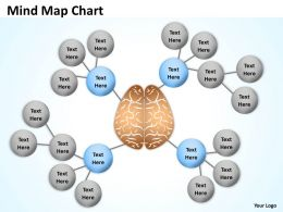 Mind Map powerpoint diagram