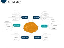 Mind Map Powerpoint Shapes