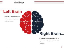 Mind Map Powerpoint Slide Background