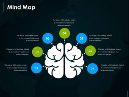 Mind Map Powerpoint Slide Background Picture
