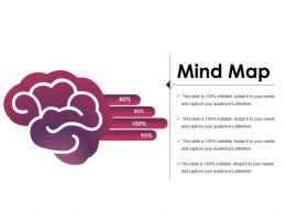 Mind Map Powerpoint Slide Clipart