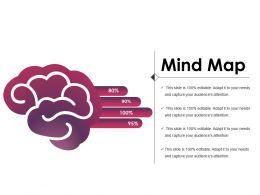 Mind Map Powerpoint Slide Clipart