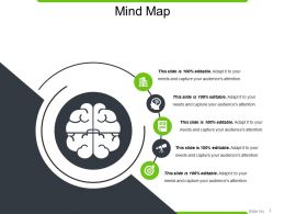 Mind Map Powerpoint Slide Design Ideas