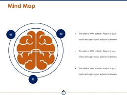 Mind Map Powerpoint Slide Design Templates 1