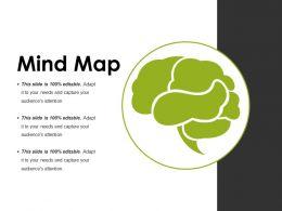 Mind Map Powerpoint Slide Designs Template 1
