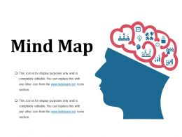 Mind Map Powerpoint Slide Ideas Template 1