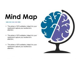 Mind Map Powerpoint Slide Information