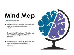 Mind Map Powerpoint Slide Information