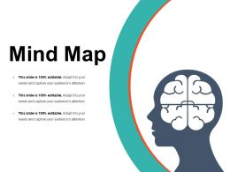 Mind Map Powerpoint Slide Presentation Examples Template 1