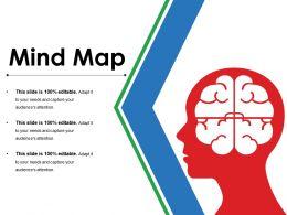 Mind Map Powerpoint Slide Presentation Sample Template 1