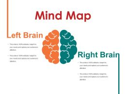 Mind Map Powerpoint Slide Template 1