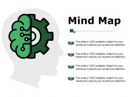 Mind Map Ppt Background Designs