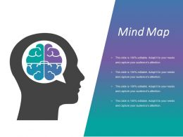 Mind Map Ppt Background Template