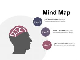 Mind Map Ppt Infographic Template