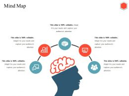 Mind Map Ppt Infographics