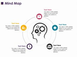 Mind Map Ppt Layouts Clipart Images