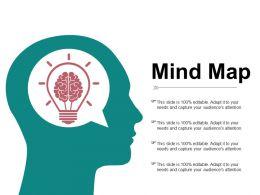 Mind Map Ppt Pictures Gridlines