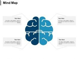 Mind Map Ppt Portfolio Infographic Template