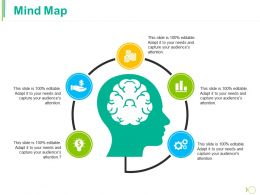 Mind Map Ppt Professional Master Slide