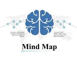 Mind Map Ppt Professional Topics