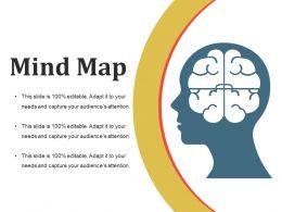 Mind Map Ppt Slide Design Template 2