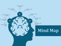 Mind Map Ppt Slides Clipart